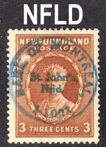Newfoundland Scott 187 VF used with a splendid SON private cancel.