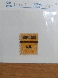 Canada   #  1-105  Moncton