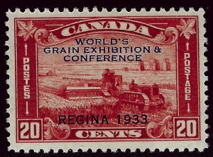Canada #203 Mint VF SC$45.00...Very Popular Country!