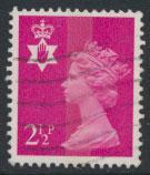 Great Britain Northern Ireland SG NI12 SC# NIMH1  Machin 2½p Used  see scan