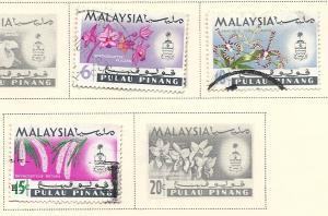 Malaya - Penang #70-72 (U) CV $0.60