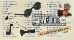 Anon E. Mouse 4807 Ray Charles Atlanta Georgia Ray Made Them All Sound Good