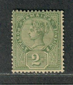Jamaica Sc#25a M/H/F-VF, Green, Cv. $40
