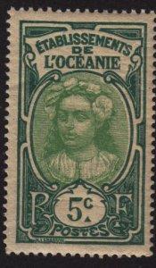 French Polynesia 24 Tahitian Girl 1913