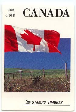Canada - Complete Flags Booklet VF-NH #BK111A