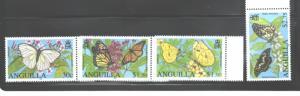 ANGUILLA 2006 #1151 - 1154 BUTTERFLIES MNH