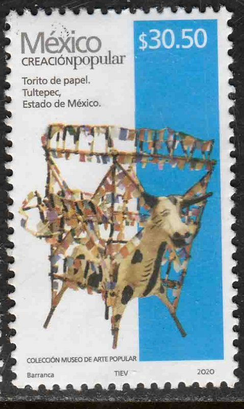 MEXICO NEW ISSUE $30.50 POPULAR ARTIFACTS 2020. MINT, NH. VF.