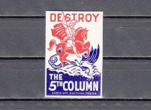 Great Britain, St. George & Dragon Label.