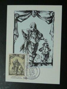 paintings engraving Jacques Callot maximum card 68292