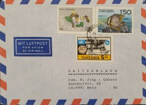 O) 1987 TANZANIA, MARINE LIFE . FISH, BEES - INSECT, ECONOMIC COMMISSION FOR AF