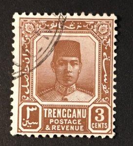 Malaya - Trengganu Sc. #23, used