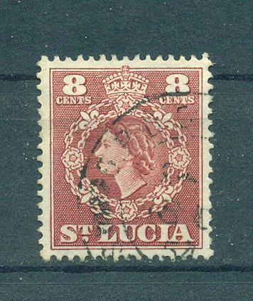 St. Lucia sc# 163 used cat value $.25