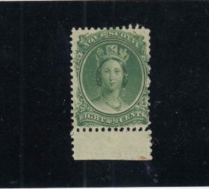 NOVA SCOTIA LOT KK44 # 11 VF-MNH 81/2cts  QUEEN VICTORIA CAT VALUE $40