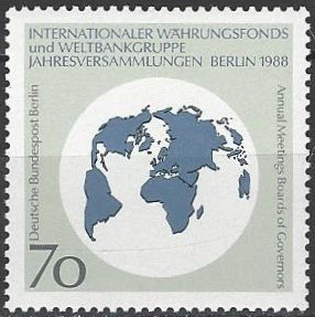 Germany 9n572  MNH  World Bank