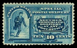 U.S. SPECIAL DELIVERY E2  Mint (ID # 62620)