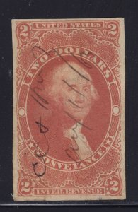 R81a VF used neat cancel with nice color cv $ 250 ! see pic !