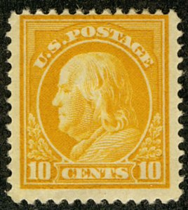 MALACK 416 F/VF OG H, nice stamp b3135