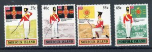 Norfolk Island 302-305 MNH