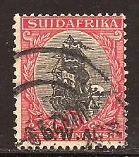 South  West  Africa  #  107 b  used