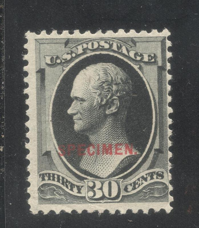 US#190S Type D (Var.)Full Black - Unused - O.G.