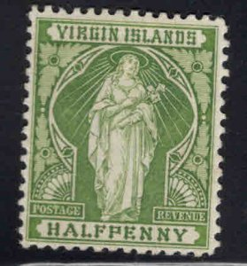 Virgin Islands  Scott 21 MH* Saint Ursula stamp