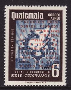 Guatemala #C266 F-VF Mint NH ** John F. Kennedy Meeting