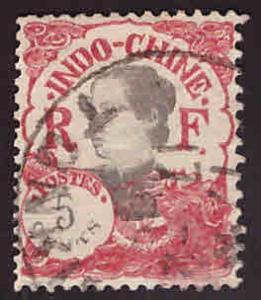 French Indo-China Scott 102 Used 1923 stamp