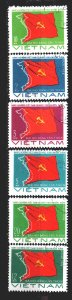 Vietnam. 1976. 874-79. Congress of the Communist Party of Vietnam. USED.