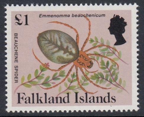 Falkland Islands - 1984 Insects and Spiders (£1) (MNH)