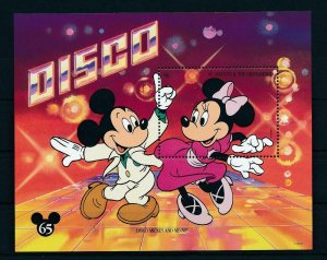 [23301] St. Vincent 1994 Disney 65th Birthday Mickey Mouse at disco MNH
