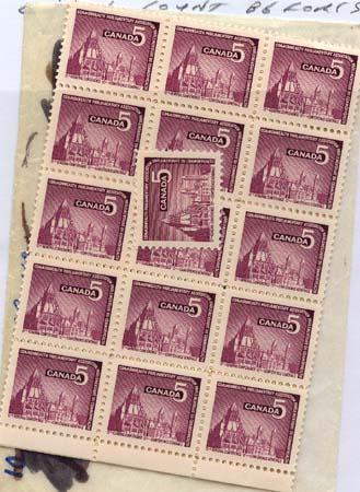 Canada - 1966 C.P.A. Conference X 100 mint #450 Inc. Blocks VF-NH