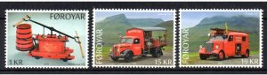 FAROE ISLANDS - FIRE - FIRE FIGHTING - FIRE TRUCKS - 2016 -