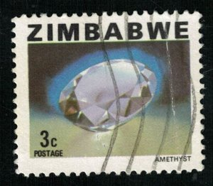Amethyst, 3 cents (T-6102)