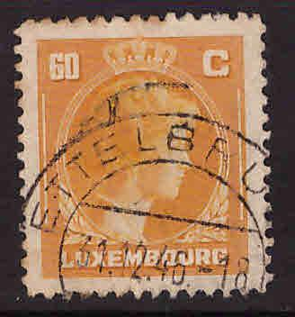 Luxembourg Scott 222A Used stamp