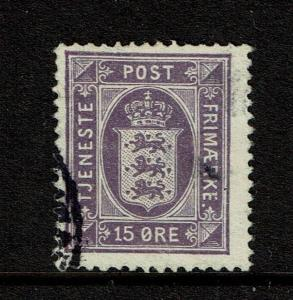 Denmark - O23 - Used - 052317