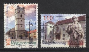 Hungary   (2)   used VF  PD
