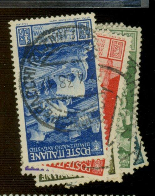 ITALY #377-84 Used F-VF Cat$14.25