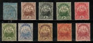 Bermuda - 10 early stamps (read description) - Catalog Value $68.60
