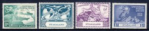 Nyasaland - Scott #87-90 - MNH - SCV $4.05