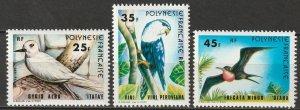 French Polynesia 1980 Sc 337-9 set MNH**