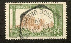 Tunisia, Scott #43, Used