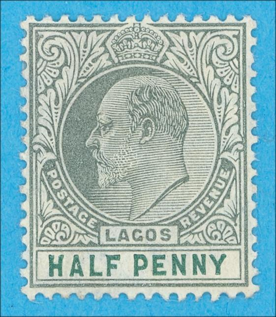 LAGOS 50 MINT HINGED OG * NO FAULTS VERY FINE !
