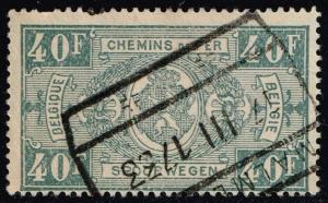 Belgium #Q171 Parcel Post & Railway; Used (0.75)