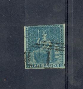 Barbados Scott 2a Fine    [ID#433187]
