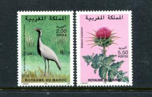 Morocco 822-823, MNH, 1997 Birds,  x31764