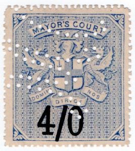 (I.B) QV Revenue : Mayor's Court 4/-