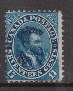 Canada #19 Mint Unused (No Gum) **With Certificate**