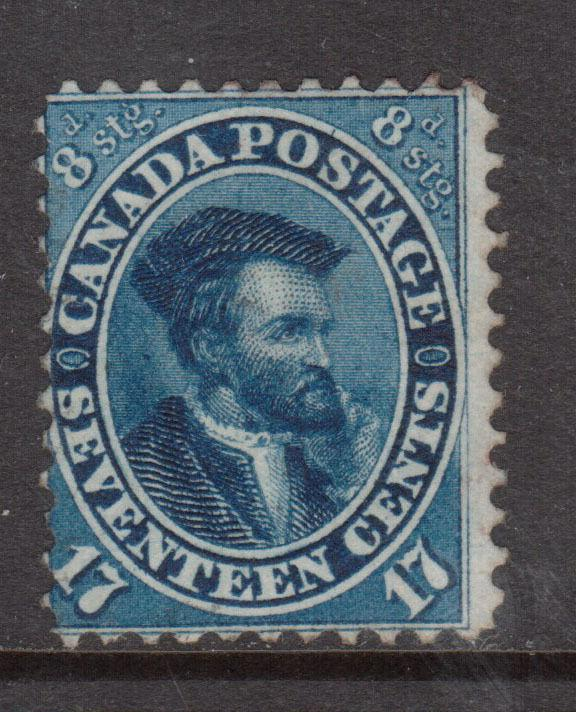 Canada #19 Mint Unused (No Gum) **With Certificate**