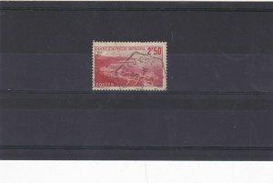 monaco 1939 2f50 scarlet  stamp cat £30+ ref 11684