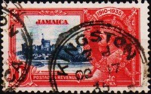 Jamaica. 1935 1d S.G.114  Fine Used